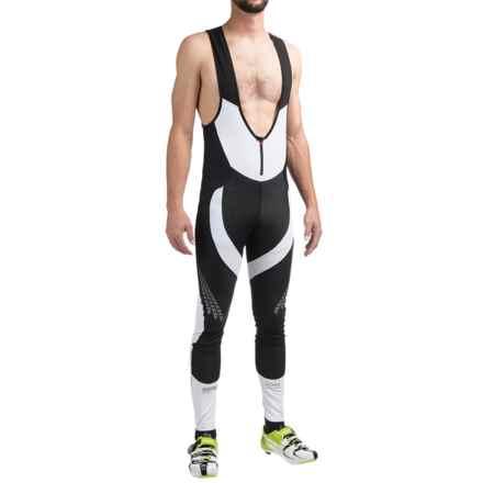 Gore Bike Wear Xenon 2.0 Windstopper® Bib Tights (For Men) in Black/White - Closeouts