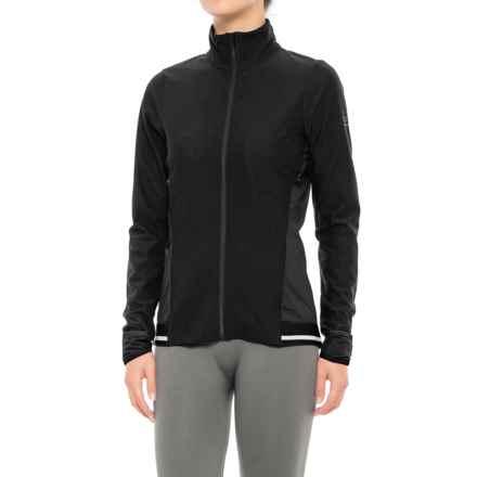 Gore Running Wear Air 2.0 Lady Windstopper® Jersey Jacket - Full Zip (For Women) in Black - Closeouts