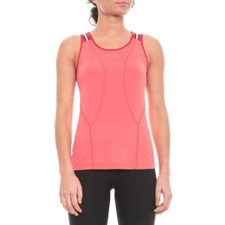 Gore Running Wear Air 2.0  Singlet  (For Women) in Coral Red/Rich Red - Closeouts