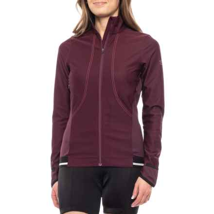 Gore Running Wear Air 2.0 SO Jersey - Long Sleeve (For Women) in Shiraz Red/Hot Pink - Closeouts