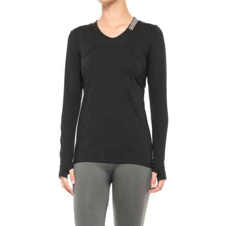 Gore Running Wear Air Lady Shirt - Long Sleeve (For Women) in Black - Closeouts