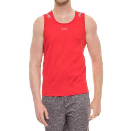 Gore Running Wear Mythos 4.0 Singlet - Sleeveless (For Men) in Red - Closeouts