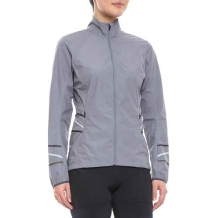 Gore Running Wear Mythos Light Windstopper® Jacket (For Women) in Asteroid Grey - Closeouts