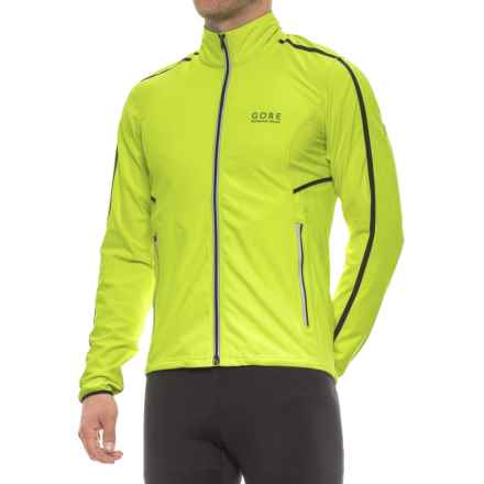 Gore Running Wear Mythos SO Light Windstopper® Jacket (For Men) in Neon Yellow - Closeouts