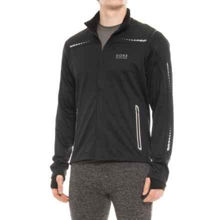 Gore Running Wear Mythos SO Windstopper® Jacket (For Men) in Black - Closeouts