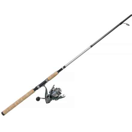 Got-Cha GC4070 Braid Spinning Rod and Reel Combo - 1-Piece, 7' in Asst - Closeouts