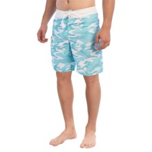 Gotcha Camo Print Boardshorts (For Men) in Blue Atoll - Closeouts