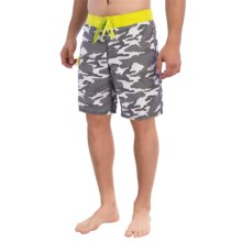 Gotcha Camo Print Boardshorts (For Men) in Sulpher Spring - Closeouts