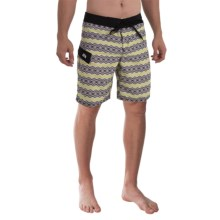 Gotcha Geo-Print Boardshorts (For Men) in Sulpher Spring - Closeouts
