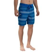 Gotcha Ombre Dot Printed Boardshorts (For Men) in Vistoria Blue - Closeouts