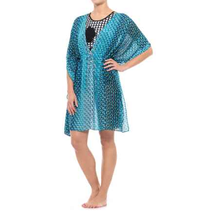 Gottex Cocoon Tunic Cover-Up - Short Sleeve (For Women) in Multi - Closeouts