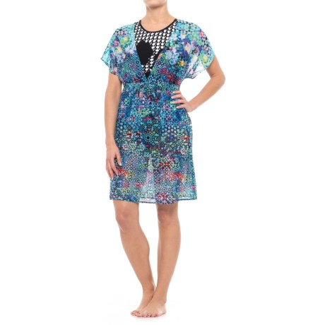 Gottex Paradise Bay Tunic Cover-Up - Short Sleeve (For Women) in Multi