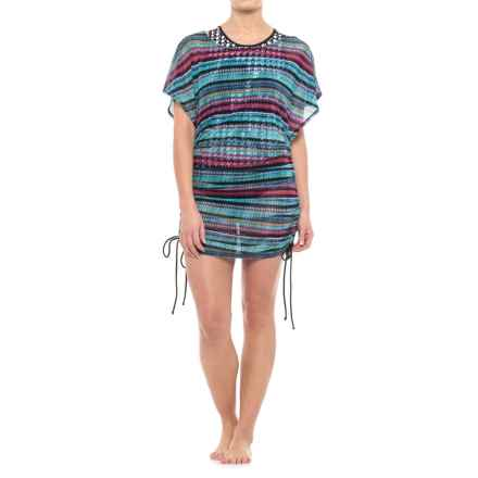 Gottex Profile by  Cozumel Tunic Cover-Up - Short Sleeve (For Women) in Multi - Closeouts