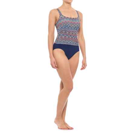 Gottex Profile by  Marimba One-Piece Swimsuit - Padded Cups (For Women) in Multi - Closeouts