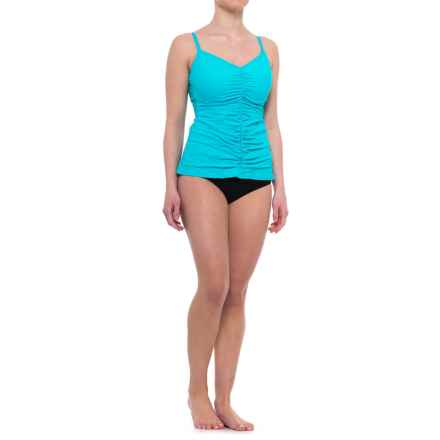 Gottex Profile by  Swan Lake Tankini Set - Underwire (For Women) in Black - Closeouts