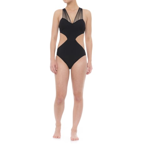 Gottex Sex on the Beach Strappy One-Piece Swimsuit - Built-In Bra (For Women) in Black