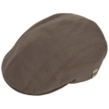 Gottmann Baltimore-UV Driving Cap - UPF 40+ (For Men) in Brown - Closeouts