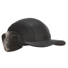 Gottmann Cap - Outside Ear Flaps in Black - Closeouts