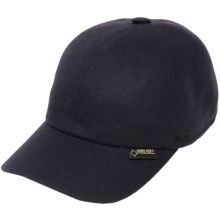 Gottmann Gore-Tex® Baseball Cap - Waterproof, Ear Flaps (For Men and Women) in Navy - Closeouts