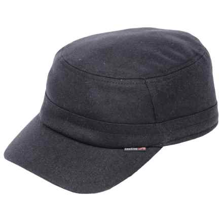 Gottmann Havanna Army Cap - Water Repellent, Ear Flaps (For Men) in Navy - Closeouts