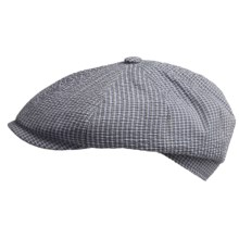Gottmann Kingston Driving Cap (For Men) in 28 Classic District Check - Closeouts