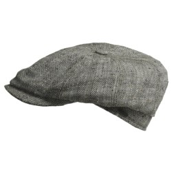 Gottmann Kingston Driving Cap - Silk (For Men) in Grey