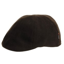 Gottmann Knit Cotton Driving Cap (For Men) in Mid Brown