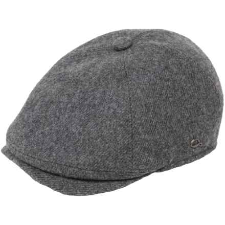 Gottmann Memphis Driving Cap - Wool (For Men) in 18 Anthracite - Closeouts