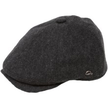 Gottmann Memphis Driving Cap - Wool (For Men) in 19 Black - Closeouts