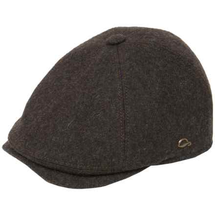 Gottmann Memphis Driving Cap - Wool (For Men) in Brown - Closeouts