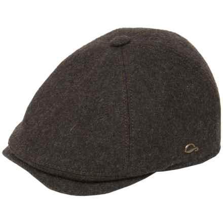 Gottmann Memphis Driving Cap - Wool (For Men) in Brown - Closeouts