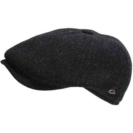 Gottmann Memphis Wool Driving Cap (For Men) in Black - Closeouts