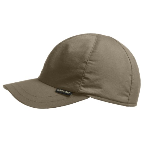 Gottmann Monaco-G Gore-Tex® Hat - UPF 40+, Waterproof (For Men) in Khaki