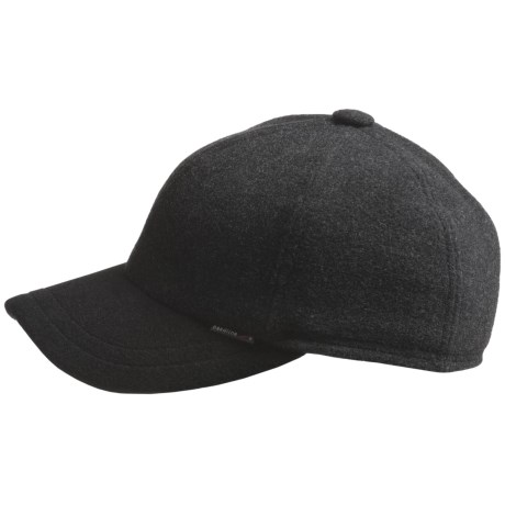 Gottmann Polo Ball Cap - Ear Flaps, Wool Blend (For Men) in Anthracite