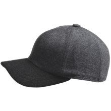 Gottmann Polo Ball Cap - Ear Flaps, Wool Blend (For Men) in Light Grey - Closeouts