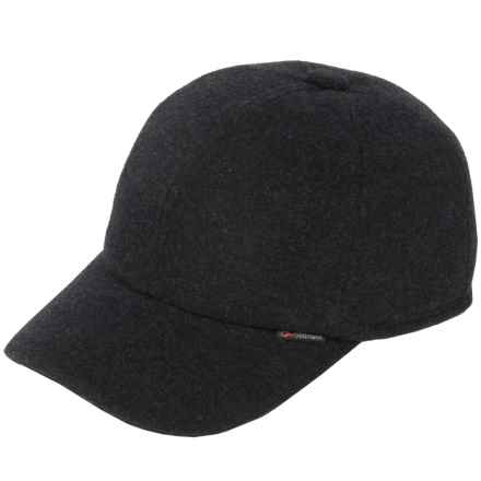 Gottmann Polo Baseball Cap - Wool, Ear Flaps (For Men) in Anthracite - Closeouts
