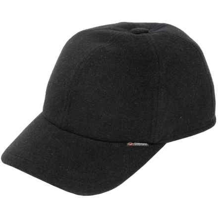 Gottmann Polo Baseball Cap - Wool, Ear Flaps (For Men) in Black - Closeouts