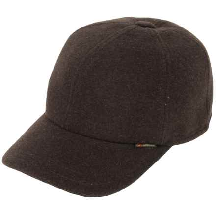 Gottmann Polo Baseball Cap - Wool, Ear Flaps (For Men) in Brown - Closeouts