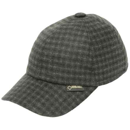 Gottmann Polo Gore-Tex® Baseball Cap - Waterproof, Ear Flaps (For Men) in Dark Grey - Closeouts