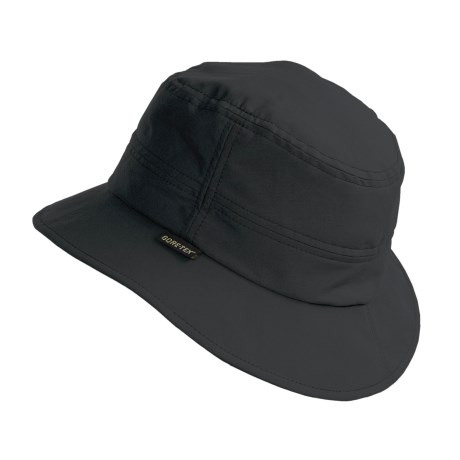 Gottmann Rainhat-G Gore-Tex® Hat - Waterproof (For Men and Women) in Black