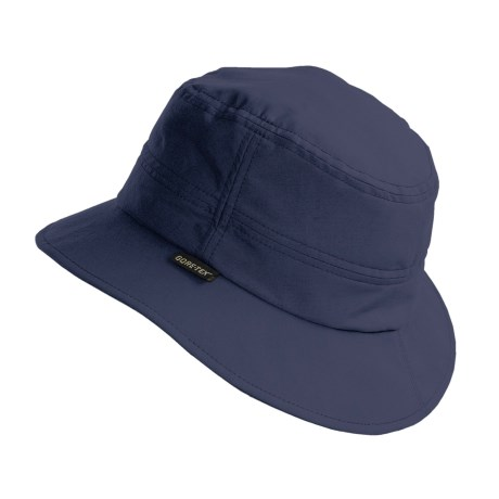 Gottmann Rainhat-G Gore-Tex® Hat - Waterproof, UPF 40+ (For Men and Women) in Marine