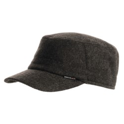 Gottmann Wool Army Hat with Ear Flaps (For Men) in Light Brown