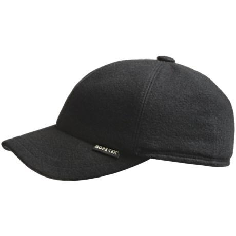 Gottmann Wool Gore-Tex® Baseball Cap - Waterproof (For Men and Women) in Anthracite