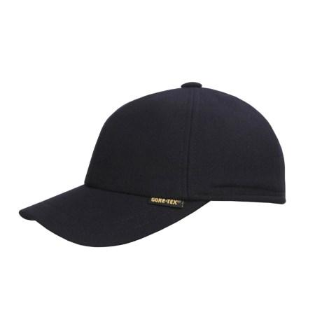 Gottmann Wool Gore-Tex® Baseball Cap - Waterproof (For Men and Women) in Navy