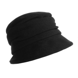 Gottmann Wool Roll Hat (For Women) in Black