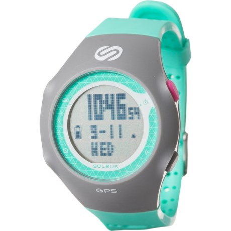 GPS Turbo Watch (For Men) - MINT/GREY ( )