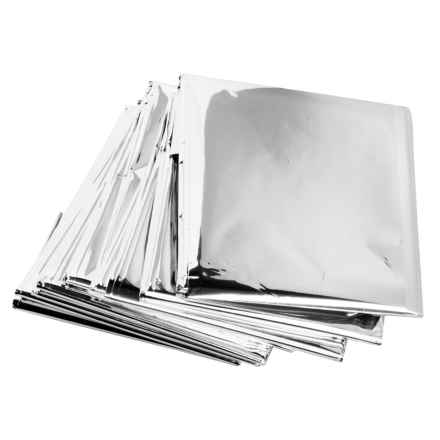 Grabber Emergency Foil Blanket - 4-Pack in See Photo - Closeouts