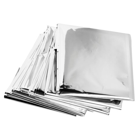 Grabber Emergency Foil Blanket - 4-Pack in See Photo