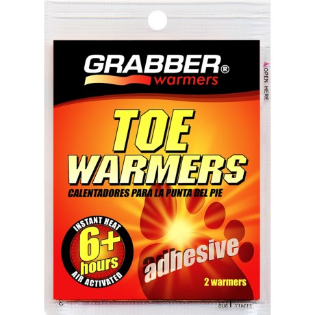 Grabber Heat Pack Toe Warmer in Asst