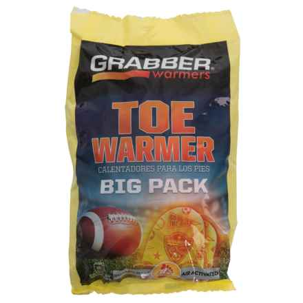 Grabber Toe Warmer Big Pack - 8-Pair in See Photo - Closeouts